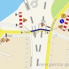 В Пензе временно перекроют движение у Бакунинского моста